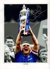 More details for signed lee mcculloch rangers autograph photo scotland kilmarnock