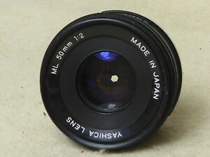 Yashica ML 50mm f2 Prime Lens, Yashica / Contax fit, excellent condition