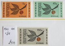 Cyprus – 1965 – Europa Set – Cat. £18 – UM (R4)
