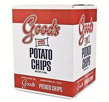 2-Pound Red Box of Good's Potato Chips Lancaster PA YUM Free Ship!