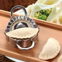 Eco-Friendly Pastry Tool Stainless Steel Dumpling Maker Wraper Dough Cutter New