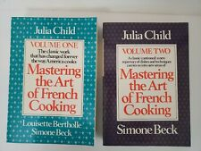 Set of 2 MASTERING the ART of FRENCH COOKING Julia Child 1983 SC Volumes 1-2