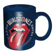 Rolling Stones 50th Anniversary Tasse Kaffetasse Mug Offizielles Lizenzprodukt