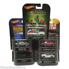 Hot Wheels 2015 RETRO Entertainment K Case - Set of 5 Cars Exclusive  Mattel