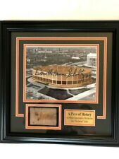 Philadelphia Flyers Authentic Slice of Spectrum Brick and Signed Photo
