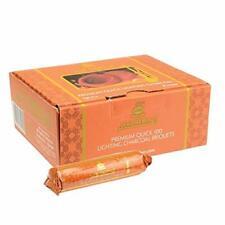 Al Fakher Chicha CHARBON DE BOIS Auto-Allumant Paquet de 10 tubes - 100 charb...