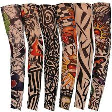 Wholesale Lot 101 Pieces Tattoo Sleeves Nylon Fake Slip Arm Sleeve Unisex