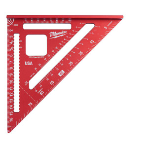 Milwaukee Rafter Square Metric Measuring Tool Layout Measure 180 mm Work Shop