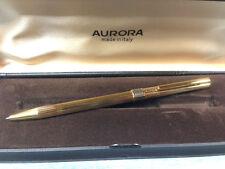 Aurora Penna A Sfera Aurora 333 Placcata Oro