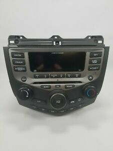 2003 - 2007 Honda Accord OEM Radio 6 Disc Changer CD Player 7BC1 EX LX Sedan