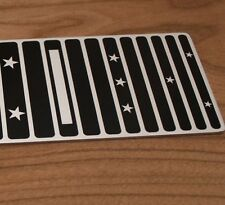 "Lap Steel Guitar Fretboard - Sugartone - 6 string 22.5"" Screenprinted Aluminium"