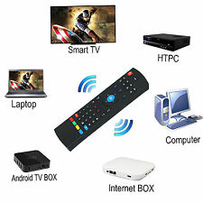 MX3 81Key 2.4G Wireless Air Fly Mouse Keyboard Remote Control For Android TV Box
