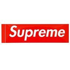 Adesivo com logo Supreme Box