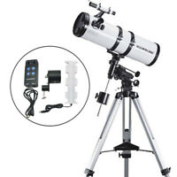 Visionking 6 inch 150 -750 mm EQ Reflector Astronomical Telescope Space + Motor
