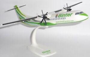 ATR-72 Binter Canarias U.D. Las Palmas Snap Fit Collectors Model Scale 1:100