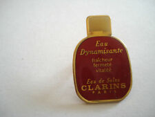 PINS CLARINS EAU DE SOINS COSMETIQUE