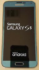 Samsung Galaxy S5 Sm-G900V 16Gb - White/Blue Used Plus Accessories