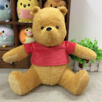 Disney Christopher Robin Winnie the Pooh Jointed Plush Toy Kids Gift Doll 30cm