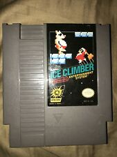 Ice Climber - Nintendo NES Game Rare Tested Works Great - 3 Screw Variant