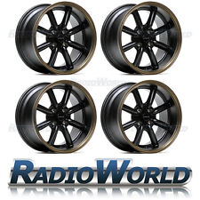 Ultralite TB Deep Dish Car Alloy Racing Wheels 15x8 ET0 4x100 Black Bronze JDM