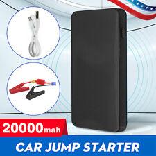 Car Jump Starter 20000mah Booster Jumper Box Portable Power Bank Battery Charger