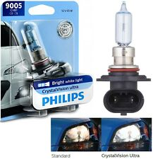 Philips Crystal Vision Ultra 9005 HB3 65W One Bulb Head Light Dual Beam Replace