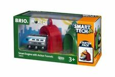 Brio Smart Engine with Action Tunnels Train Set