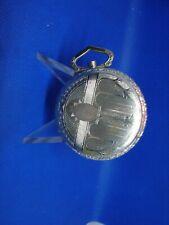 Pocket Watch Case Part! cs7a Antique 49mm Illinois Spartan Fancy Back