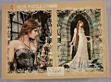 Heye Puzzle - Favole by Victoria Frances, Poison + Dress - 2 x 1000 Teile