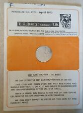 More details for coin collecting numismatic bulletin - april 1970 vintage