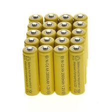 20 AA Rechargeable Batteries NiCd 600mah 1.2v Garden Solar Ni-cd Light LED A20