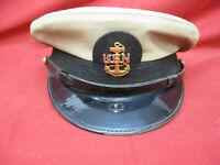 Vintage US Navy Bancroft Chief Petty Officers Visor Hat / Cap size 7