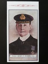 No.117 HENRY RITCHIE Great War Victoria Cross Heroes 5th S. REPRO Gallaher 1916