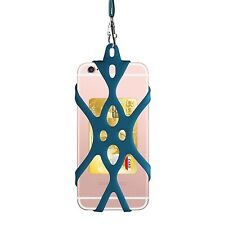 Silicone Case Phone Holder with Detachable Lanyard Strap for iPhone...