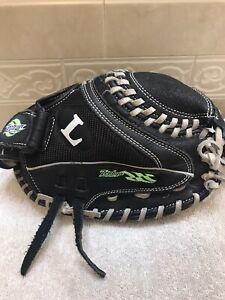 "Louisville Zephyr 33"" TPS Youth Girls Softball Catchers Mitt Right Hand Throw"