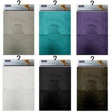 Luxury Touch 2 Pc Bath Mat And Pedestal Set Non Slip Washable Bathroom Pile Rug