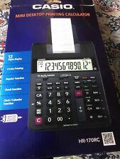 Casio HR-170RC Printing Calculator - 12 Digits