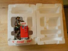 Large Emmett Kelly Coca Cola Porcelain Figurine