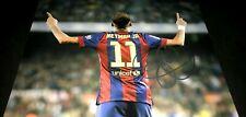 Neymar da Silva Santos Brazilian Soccer Star Signed 11x14 Photo Proof COA 2