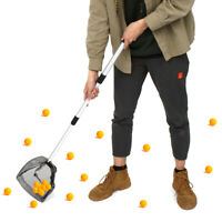 Telescopic Ball Pick Up Net Golf Table Tennis Hand Foldable Picker Collector