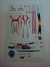 DECALS KIT 1/18 FIGURA + CASCO VETTEL F1 WORLD CHAMPION 2011 FIGURINO,PILOTA