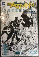 BATMAN ETERNAL # 1 DC Comics  2014 BW Cover Variant FAN EXPO