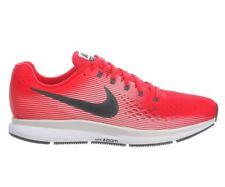 Nike Air Zoom Pegasus 34 Mens 880555-602 Speed Red Mesh Running Shoes Size 10.5
