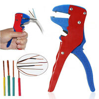 Automatic Wire Cable Lead Stripper Stripping Crimper Crimping Hand Tools.
