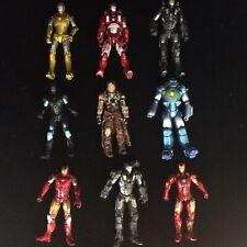 "Iron Man 4"" Action Figures Marvel Avengers Hasbro Toy Bundle"