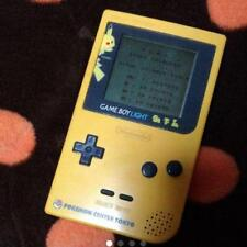 Nintendo Gameboy Clair Pokemon Pikachu Edition Limitée Jeu Console Travail