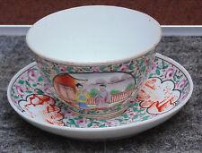 rare ancienne tasse / tasse porcelaine chine famille vert ? signé 1662 1722