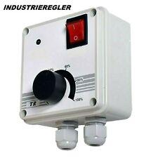 400W 230v Industriedrehzahlregler für Motorsteuerung Elektromotor Drehzahlregler