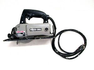 """PORTER CABLE MODEL #314 TRIM SAW HD 4-1/2"""" 4.5 AMP 120 VOLT 4500 RPM, WORKING"""