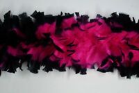 "Hats//Halloween//Costume//Bridal WINE 8-10/"" Feathers 2 Yard Feather TURKEY BOA"